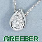 ダミアーニ ネックレス ダイヤ ダイヤモンド ドロップ K18WG BLJ