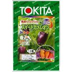 野菜種 ミニパプリカ スイートカメレオン 10粒 トキタ種苗