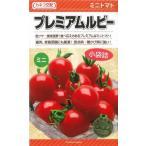 野菜種 ミニトマト プレミアムルビー 16粒 カネコ交配