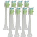 フィリップス ソニッケアー対応 ダイヤモンドクリーン HX6064 HX6062 電動歯ブラシ用 互換 替えブラシ (8本セット) ブラシヘッド スタンダード【保証付き】
