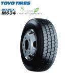 トーヨータイヤ デルベックス M634 195/85R16 114/112L◆DELVEX バン/トラック用サマータイヤ