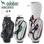アダバット adabat メンズ PVCレザー キャディバッグ ABC293