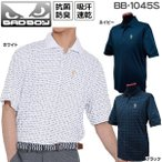 バッドボーイ BADBOY メンズ ゴルフウェア 半袖ポロシャツ BB-1045S