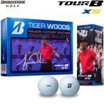 ブリヂストン ゴルフボール TOUR B XS タイガーウッズ メジャーヴィクトリー エディション 1ダース[12球入り] 8JJX
