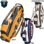 ショッピングキャディバッグ アドミラル ADMIRAL ゴルフ キャディバッグ 合皮 UJ スタンドキャディバッグ ADMG6FC6