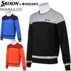 スリクソン by デサント メンズ ゴルフウェア パネルデザイン クルーネック セーター RGMMJL03 M-3L