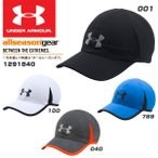 アンダーアーマー UNDER ARMOUR UA SHADOW CAP 4.0 1291840 001 BLACK BLACK REFLECTIVE ONESIZE