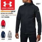 ショッピングUNDER アンダーアーマー メンズ スポーツウェア ジャケット UA Knit FZ Hoody 1313485 2018年春夏モデル