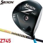 送料無料 スリクソン Z745 ドライバー グラファイトデザイン ツアーAD MJ-6 シャフト