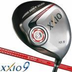 ショッピングゼクシオ ゼクシオ9 レッドカラー ドライバー XXIO MP900 シャフト