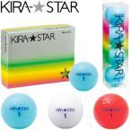 キャスコ Kasco  ゴルフボール KIRA STAR2 アクア 1ダース 12個入り