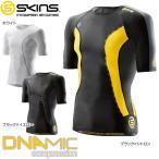 スキンズ DNAMIC メンズ ショートスリーブトップ ブラック シトロン XS 1枚入
