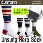 バートン BURTON 靴下 Unsung Hero Sock アンサンヒーロソックス 19112110 吸汗速乾 先割れ スノーボード アンサング