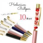 □【ハーバリウムペン】超お買い得・まとめ買い 同色10本セット ゆうパケ送料無料 ハーバリウムボールペン本体のみ《選べる6色》[福袋,ドライフラワー]