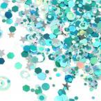 Yahoo!隠れ工房 GreenOcean【封入】ミックスホログラム GreenOceanオリジナルアイテム 《シーパラダイス》 [お得,ネイル,レジン,パーツ,封入,素材,バラエティ]