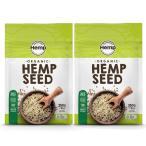 Hemp Foods Japan (ヘンプフーズジャパン) Hemp Seeds ヘンプシードナッツ 有機麻の実ナッツ 250g 【2パックセット】