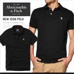 ショッピングポロシャツ アバクロ ポロシャツ アバクロンビー&フィッチ Abercrombie&Fitch NEW ICON POLO 半袖 ロゴ アイコン AM14025 大きいサイズ
