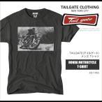 テイルゲート TAILGATE Tシャツ 半袖 Tee カレッジ モトクロス HONDA MOTORCYCLE T-SHIRT TG50002 メール便送料無料