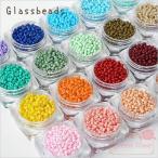 【ゆうパケット可】ハンドメイド用♪ガラス製♪シードビーズ約2.5mm♪不透明カラー♪約5g ★アクセサリー/パーツ/材料/グラスビーズ/ガラスビーズ/beads110