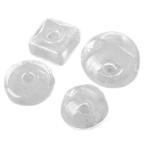 【卸売り】ハンドメイド用 変わった形のガラスドーム 10個 ガラス/パーツ/資材/材料/テラリウム/1512