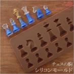 【レジン材料】モールド・シリコン型♪チェスの駒 ☆ シリコンモールド/レジン型/UVレジン/レジンクラフト/1704/mold-43-18