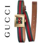 グッチ 時計 Gフレーム レディース  腕時計 マルチカラー グリーン レッド ゴールド YA128527 GUCCI G-Frame