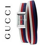 グッチ 時計 Gフレーム レディース  腕時計 マルチカラー ブルー レッド ホワイト YA147502 GUCCI G-Frame