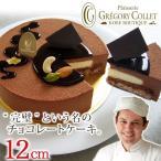 送料無料 チョコレートケーキ 誕生日 バースデーケーキ 2人 アントルメショコラ★ 12cm 4号 2〜3名様用