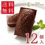 送料無料 フィナンシェ 焼き菓子 詰め合わせ 取り寄せ フィナンシェショコラ12個入