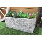 Yahoo!グリングリンセール★テラコッタ リギュースクエアL プランター【TL215】/terracotta・ガーデニング・多肉植物・サボテン・鉢・庭・花や多肉の寄せ植えに