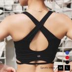 スポーツ レディース スポーツウエア スポーツブラ スポーツ ダンス ヨガ フィットネス ジム ランニング トレーニング ブラトップ タンクトップ カップ付き M0