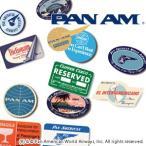 PAN AM パンナム トラベルステッカー4枚入り 531017(je1a400) メール便OK