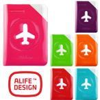 [送料299円〜]ALIFE アリフ ハッピーフライト スキミング防止 シールドパスポートカバー sncf-122 4点迄メール便OK(su0a149)