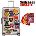 Suitcases Sticker(スーツケースステッカー) Vintage Voyage(ヴィンテージボヤージュ) スーツケースステッカー vv メール便OK(ze0a013)