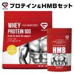 GronG(グロング) プロテイン バナナ風味 1kg HMB セット ホエイプロテイン 100 おきかえダイエット 筋トレ 国産