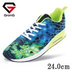 GronG ランニングシューズ 靴 レディース ウォーキング 軽量 エアークッション