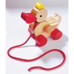 ドイツ製 木のおもちゃ HABA ハバ社 プルトーイ・あひる 木製プルトイ ベビー用
