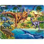 ラーセン T-REX 恐竜 パズル 57ピース 知育玩具