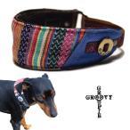 エスニック 織物ストライプ!ハーフチョーク【小型犬用】ミニピン・イタグレにぴったり! 【DM便で送料無料】