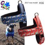 犬用ハーネス ダルメシアンプリント クイックハーネス・胴輪 小型犬用 ワンタッチで装着簡単 裏地クッションで優しい。 DM便で送料無料 日本製