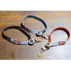 迷子札 ネームプレートとぺット用チョーカーネックレスのセット。ネームタグ 犬、猫など。