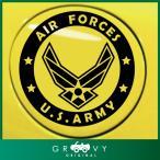 ショッピングエアフォース アメリカ 米軍 US エアフォース 車の給油口ステッカー / ARMY マーク / アーミー ミリタリー ドレスアップ デカール シール #