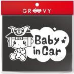 足利 たかうじ君 BABY IN CAR 車 ステッカー ベイビー イン カー 煽り運転 あおり運転 赤ちゃん 子供 乗ってます シール ゆるキャラ かわいい グッズ