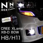 N BOX専 LEDフォグバルブ 80W級 16LED アルミヒートシンク ドームレンズ