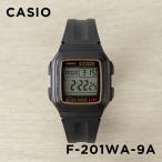 10年保証 CASIO カシオ スタンダード F-201WA-9A 腕時計 メンズ レディース キッズ 子供 男の子 女の子 チープカシオ チプカシ デジタル 日付 ブラック 黒 ゴ