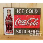 ����ꥫ �֥ꥭ���� ������ץ졼�� COCA-COLA ���������� ICE COLD ����ĥ����ܥȥ� ��