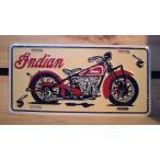 アメリカ看板 インディアン モーターサイクル 大型バイクの Indian MOTORCYCLE ライセンスプレート/cm19/アメリカ雑貨/アメリカン雑貨