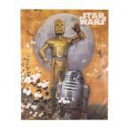 スターウォーズ STAR WARS R2-D2 C3PO ジャポネ 和柄 ミニポスター 40x50cm