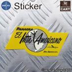 ステッカー PANAM パンナム航空 アメリカン エアライン PANAGRA イエロー UV 耐水シール