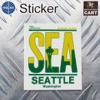 ステッカー PANAM パンナム航空 アメリカン エアライン TAG タグ 荷札 SEA シアトル UV 耐水シール アメリカン雑貨